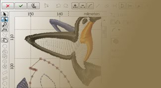 Digitizing Studio for Embird embroidery software