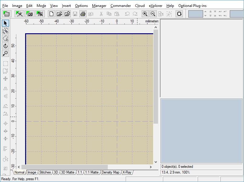 Double-click to Stitch in Editor