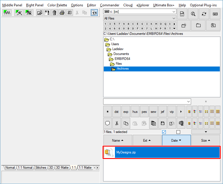 Processing ZIP and RAR Archives