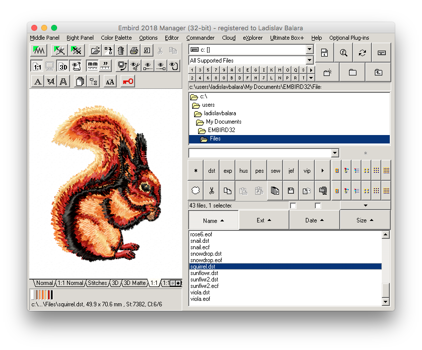 How to Use Embird for Windows on Mac (OS X) with Wine
